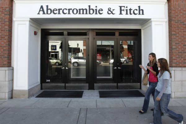 Abercrombie's big news: the retailer promises to offer larger sizes in the spring.
