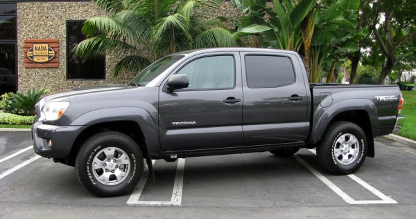 NADAguides.com March Featured Vehicle of the Month - 2012 Toyota Tacoma.  (PRNewsFoto/NADAguides.com) THIS CONTENT IS PROVIDED BY PRNewsfoto and is fo...