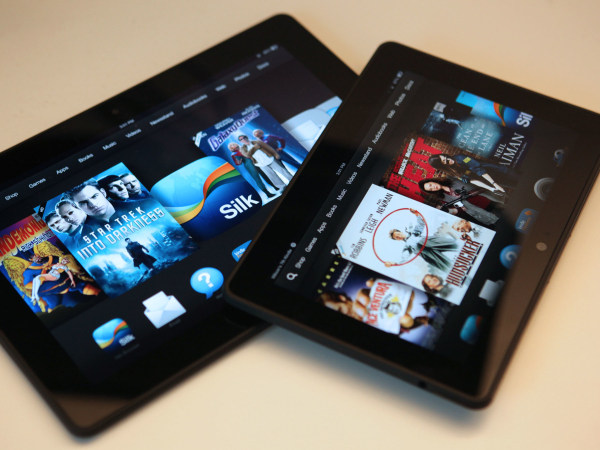 Amazon's Kindle Fire HDX comes in 7-inch and 8.9-inch models.