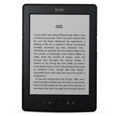 "The Amazon Kindle starts at $69 with so-called ""special offers."" Ad-free Kindles start at $89."