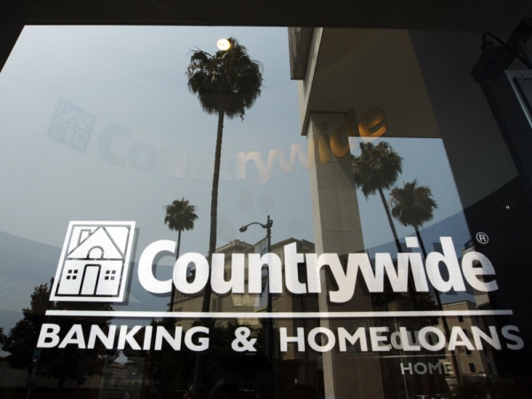 A file photo shows the Countrywide Financial Corp. office in Beverly Hills, Calif.