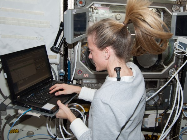 Image: Space station computer