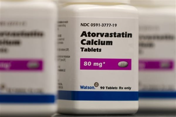 Atorvastatin Calcium tablets, a generic form of Lipitor, which is being sold under a deal with Pfizer.