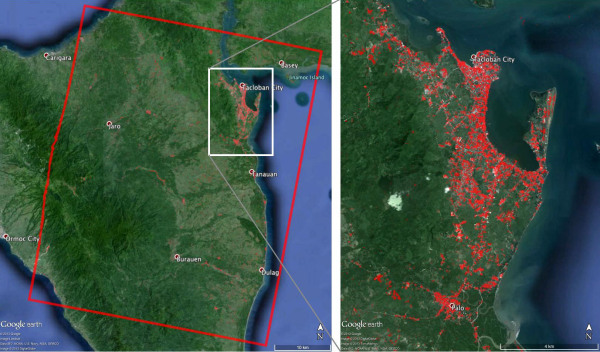 NASA-Generated Damage Map To Assist With Typhoon Haiyan Disaster Response                 http://www.jpl.nasa.gov/spaceimages/details.php?id=PIA17687