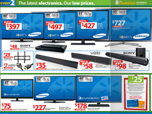 30 deals were found for Walmart Tv. Deals are available from 4 stores and 5 brands. An additional discount is available for 5 items. Last updated on December 6, Scanning all available deals for Walmart Tv shows that the average price across all deals is $ The lowest price is $ from QVC while the highest price is $3, from QVC.