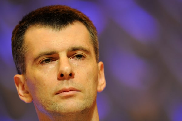 Russian billionaire Mikhail Prokhorov, pictured here, is in a deal to take control on one of the world's largest miners of potash, a key ingredient in...