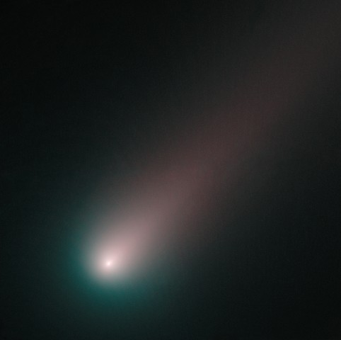 Image: Hubble view of ISON's inner region