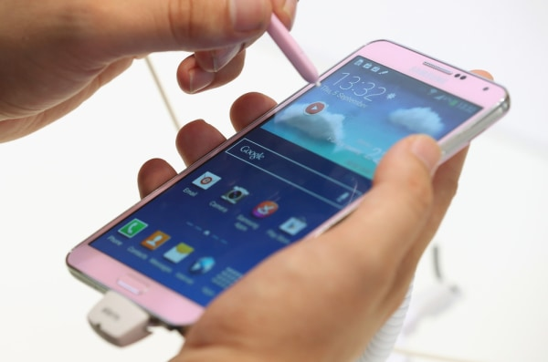 Samsung Galaxy Note 3 smartphone