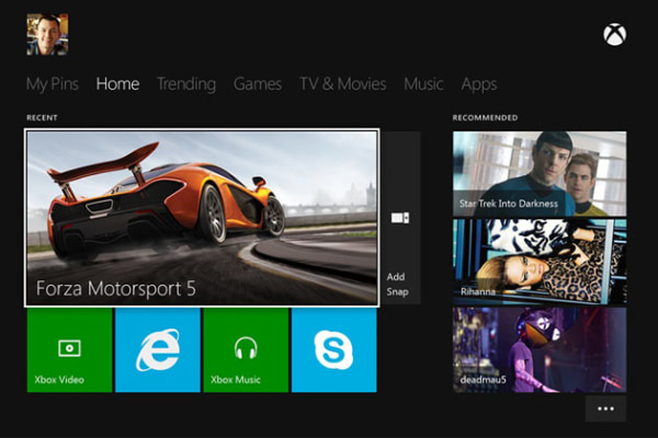 Despite being pared down from the 360 version, the new Xbox dashboard can still be pretty clunky and difficult to navigate.
