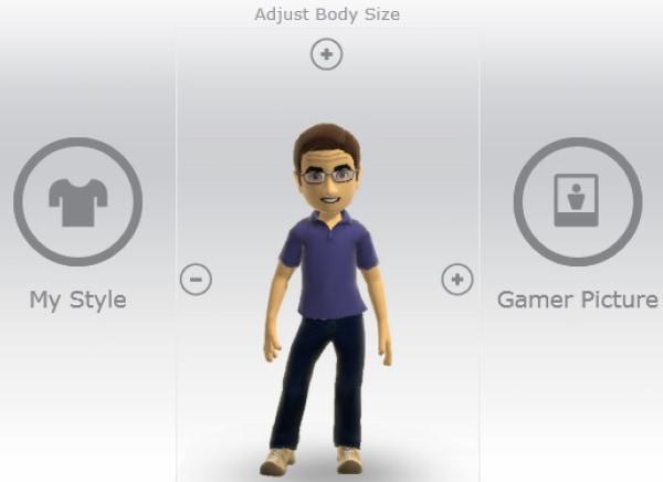 An Xbox Live avatar