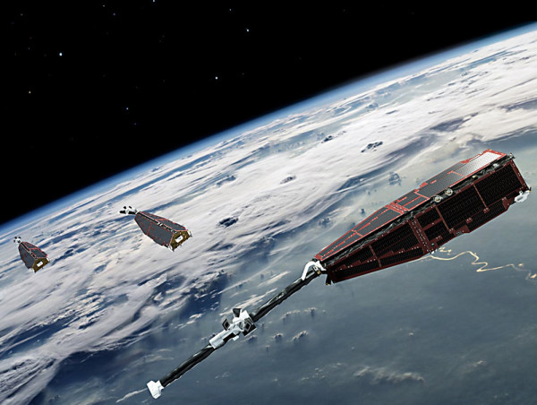Image: Swarm satellites