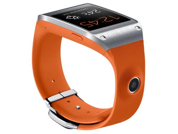 Galaxy Gear smartwatch orange