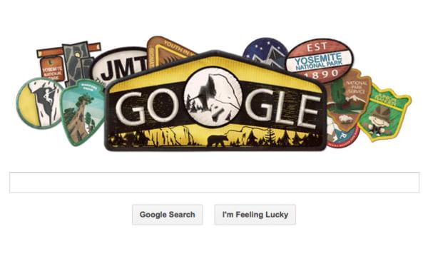 Yosemite Park Google doole
