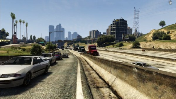 "Creative ""GTA V"" fans have turned scenes from the game into a stunning time-lapse film."