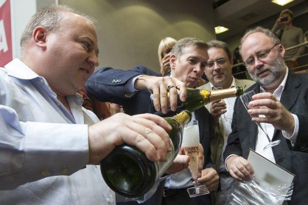 Image: Celebrating a Nobel Prize