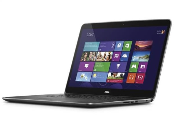Dell's recently announced XPS 15 has a 15.6-inch display with 3200x1800 pixels, record resolution.