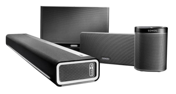 Sonos speaker lineup