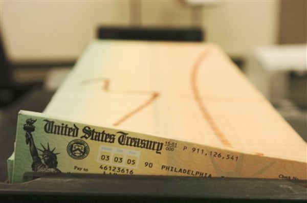 Image: Social Security check