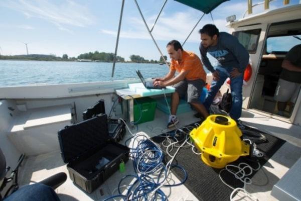 Testing of deep sea internet