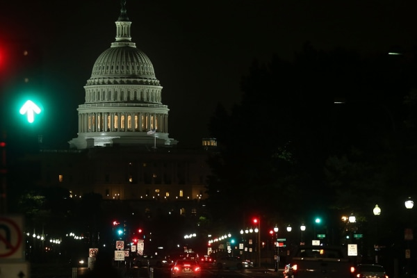 Open for business, but the shutdown cost plenty. The U.S. Capitol building is shown on the morning after a bipartisan bill was passed by the House and...
