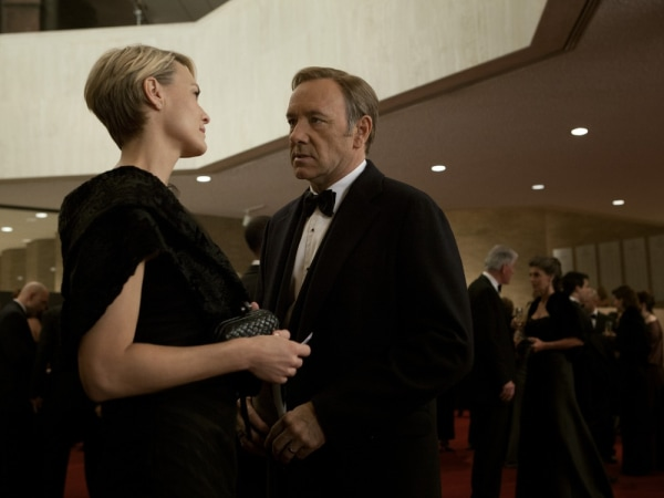 "Netflix says it plans to double its investment in original programming, such as ""House of Cards,"" which won an Emmy for best director this year after debuting on the subscription streaming service in February."
