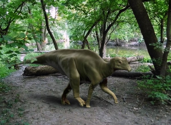 Image: Parasaurolophus