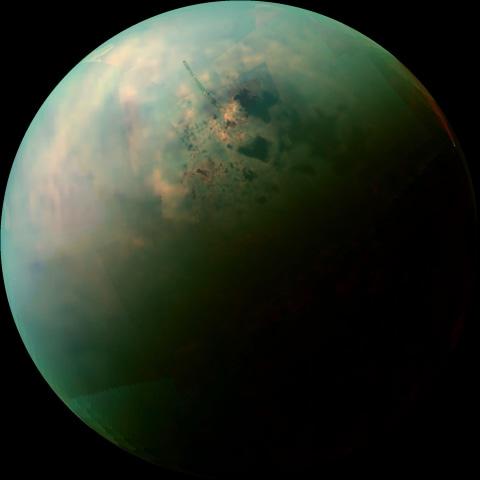 Image: Titan lakes