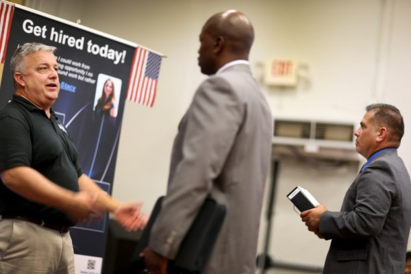 Jobless claims dropped, but less than expected. The data has been plagued by a backlog of applications in California caused by a computer glitch.