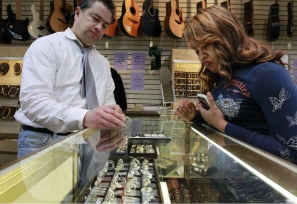 Pawn shop sale