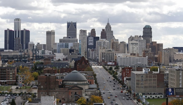 "Detroit rose to No. 1 in a list of the country's top 10 ""turnaround"" housing markets in the third quarter, according to Realtor.com."