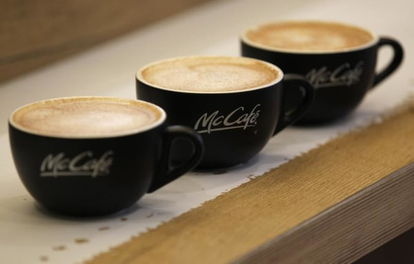 McDonald's plans to start selling packaged coffee in grocery stores in a test next year.