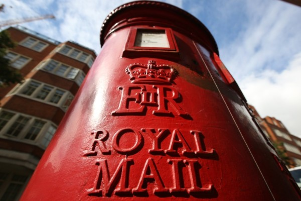 A Royal Mail post box on September 12, 2013 in London, England. The Royal Mail will be privatised in the next few weeks the Government has announced.