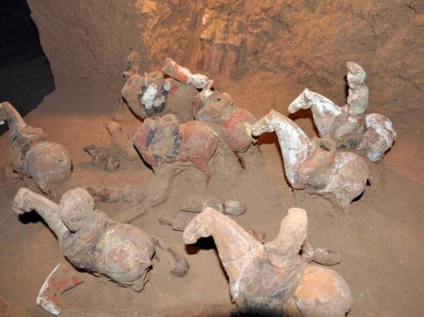 Image: Shangguan Wan'er's tomb