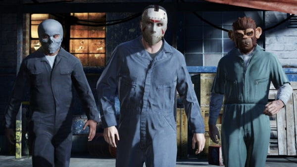 """The story in """"Grand Theft Auto V,"""" the pursuit of which is an entirely optional endeavor, centers around a number of action-packed heists involving all three player characters."""
