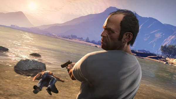 It wouldn't be Grand Theft Auto without some gangland-style murder.