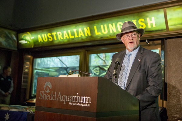Image: Australian Consul-General The Honorable Roger Price