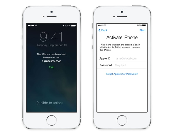 New Find My iPhone features in iOS 7