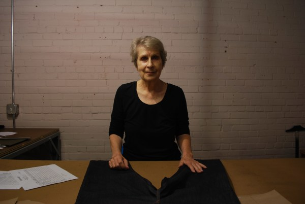 Christel Ellsberg is an expert tailor and pattern maker for Raleigh Denim, which makes American-made jeans.