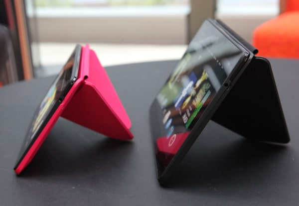 Kindle HDX Origami cover stand