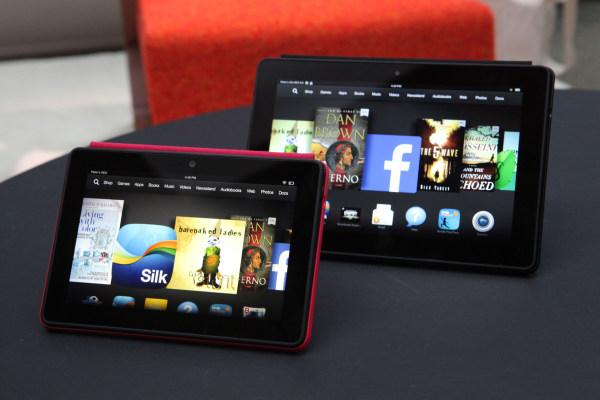 Amazon's new HDX tablets