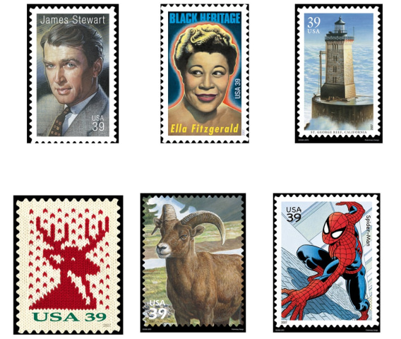 And in the future I see... The cash-strapped USPS is paying a futurist to study how to slow the decline in stamp usage.