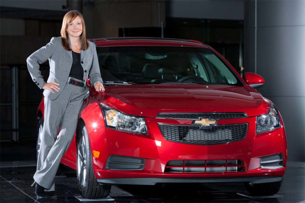 Mary Barra, GM's senior vice president of global product development, could be on the short list of those with a shot at replacing CEO Dan Akerson, who turns 65 next month.