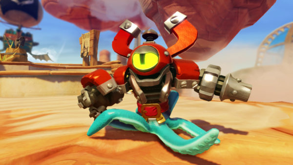 """""""Skylanders: Swap Force"""" is the first game in Activision's celebrated toy-gaming series that has action figures with multiple interchangeable parts."""