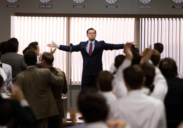 "Leonardo DiCaprio portrays Jordan Belfort in a scene from ""The Wolf of Wall Street,"" which is laced with profanity. Does swearing have a place at work?"
