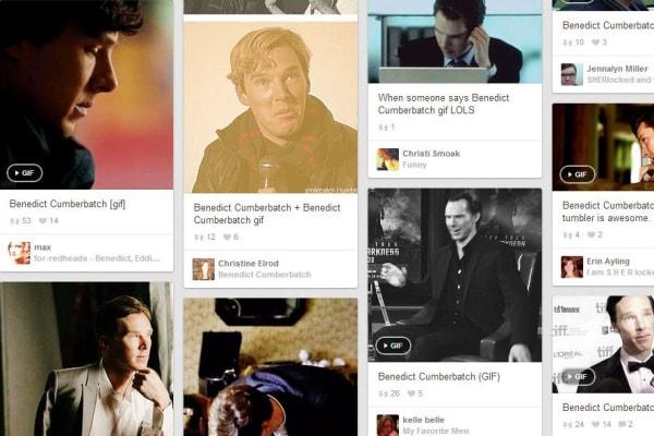 Pinterest Cumberbatch gif.