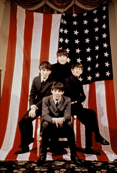 Ed Sullivan introduced The Beatles to America on Feb. 9, 1964. The band (clockwise from top John Lennon, Ringo Starr, Paul McCartney and George Harrison) posed for a portrait in New York City
