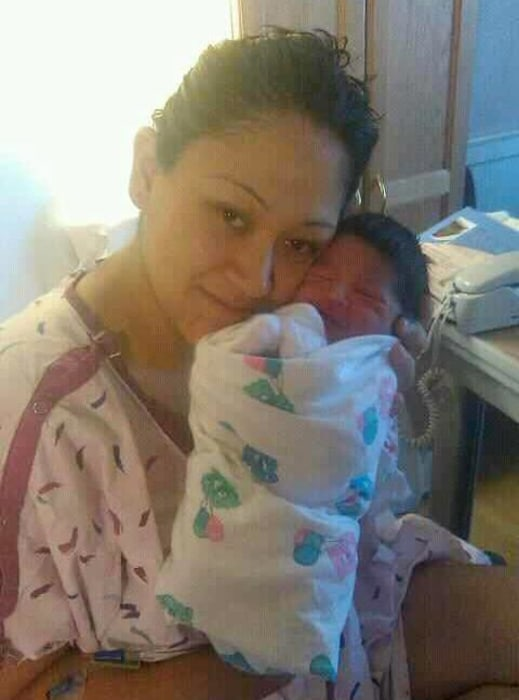 Image: Tanya Guevara and her son, Adrian, were killed in 2010.