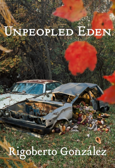 Image: Front cover of 'Unpeopled Eden'
