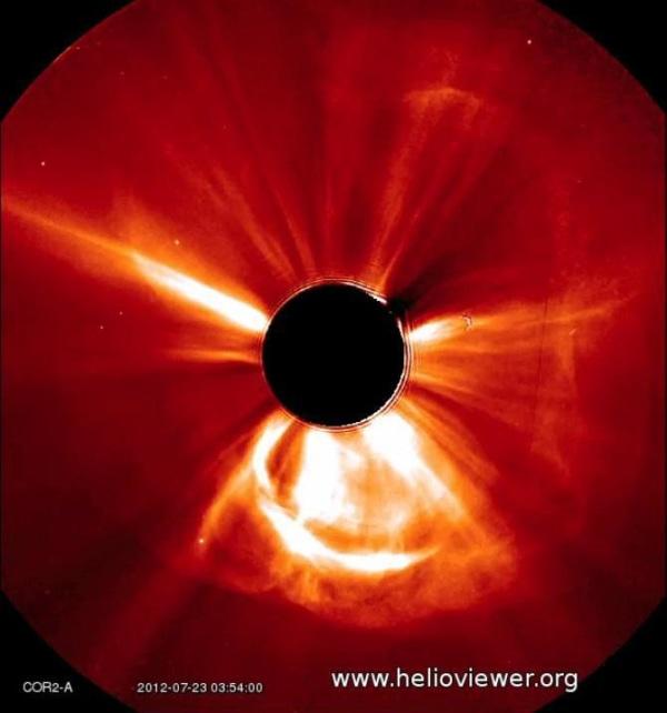 Image: Coronal mass ejection