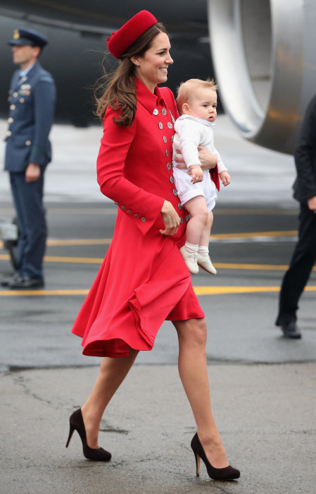 Image: The Duke And Duchess Of Cambridge Tour Australia And New Zealand - Day 1